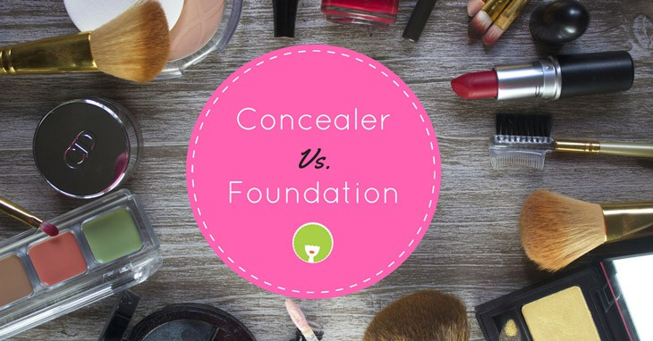 concealer vs foundation