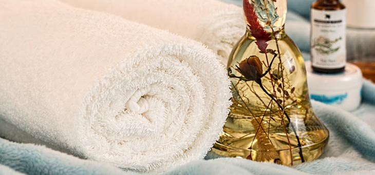 towel essential oil