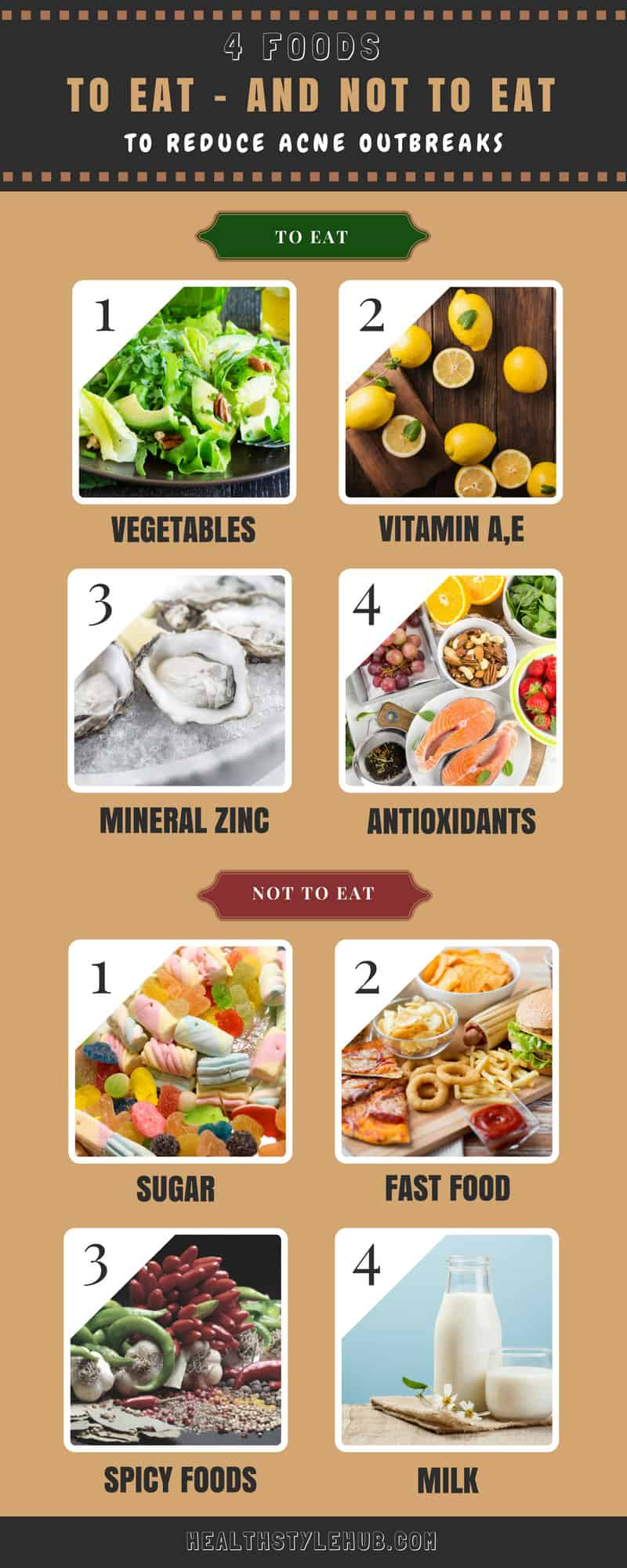 Foods Not To Eat For Pimples