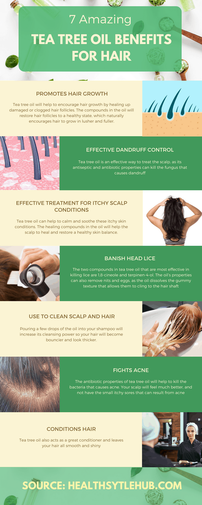 amazing tea tree oil benefits for hair