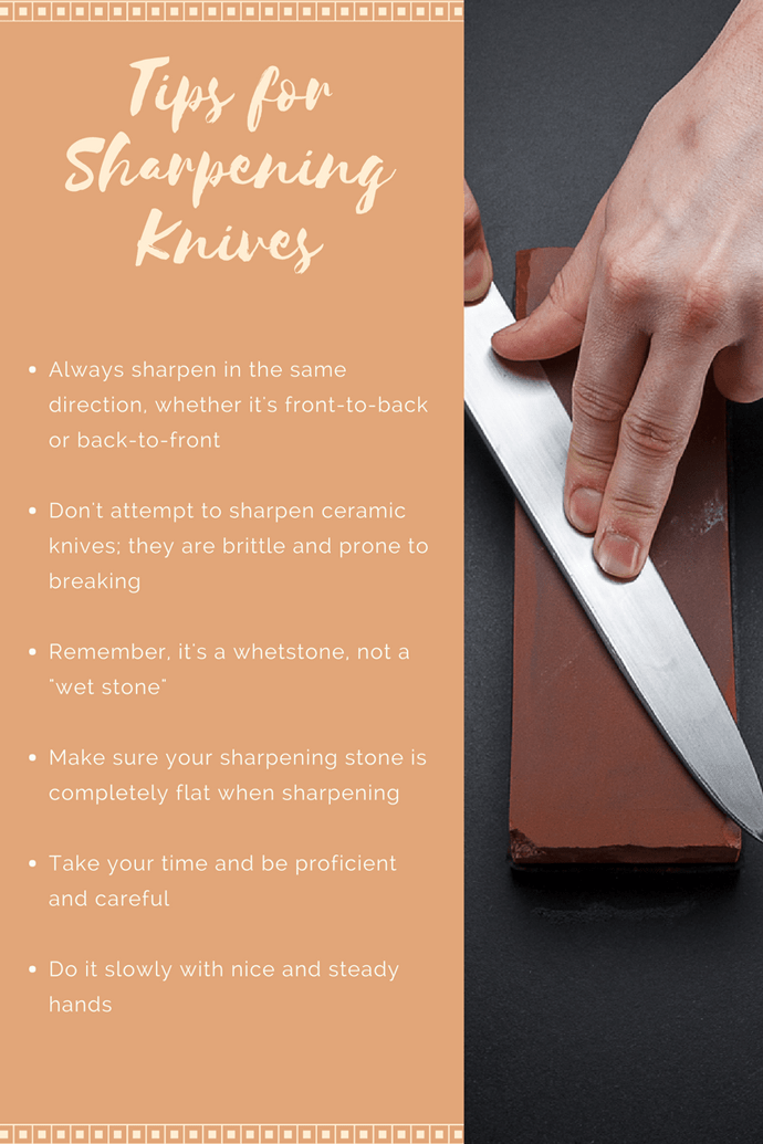tips for sharpening knives