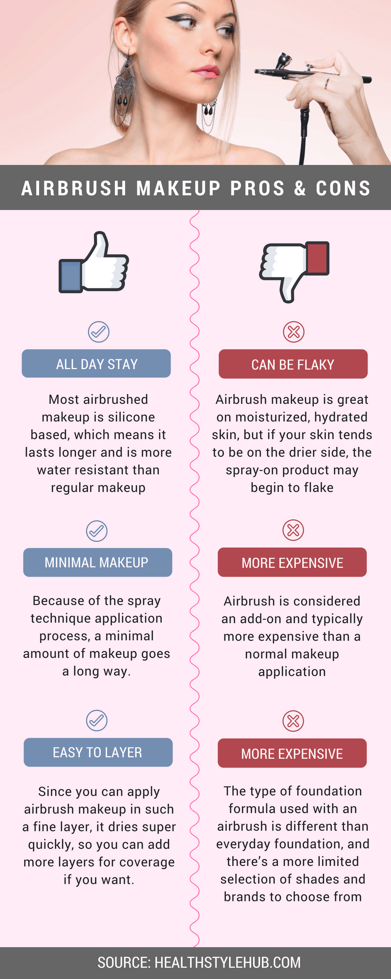 airbrush makeup pros cons