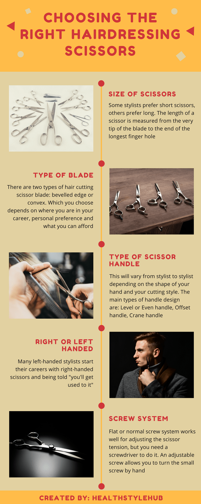 choosing the right hairdressing scissors