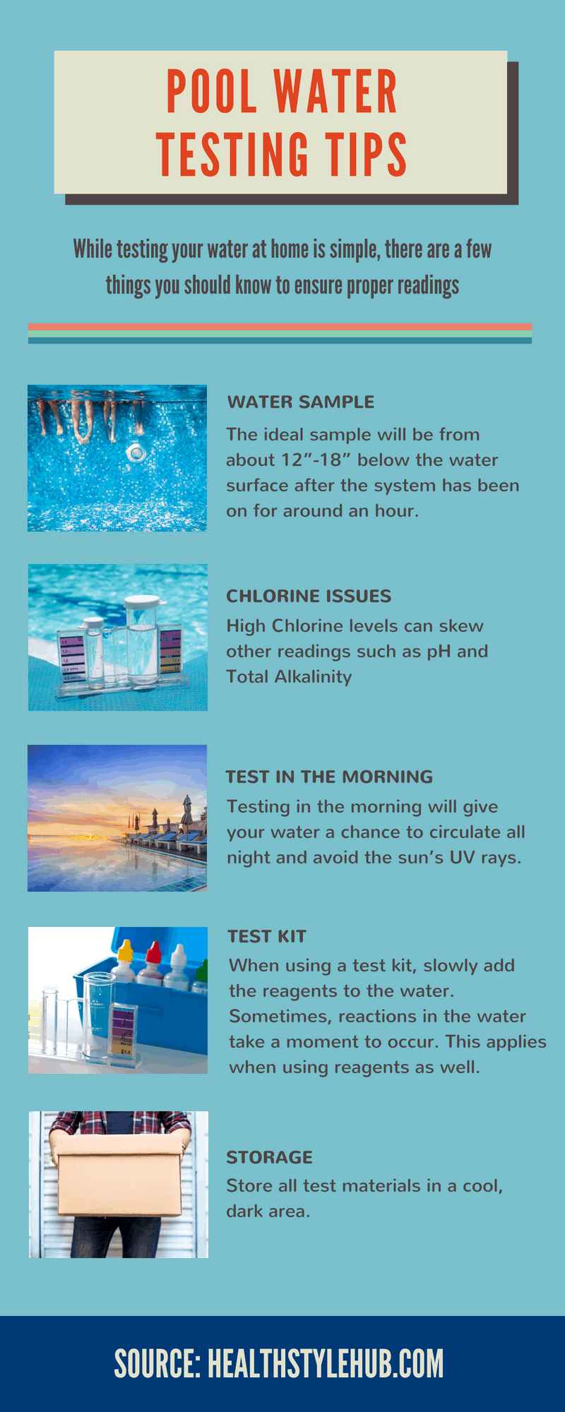 pool water testing tips
